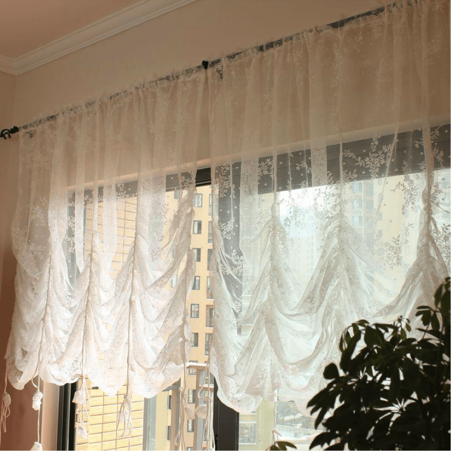 Gathered curtains - Window Curtains Blogs