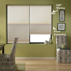 Home Basics Cordless Day-Night Cellular Shades