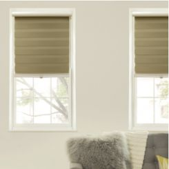 Advantage Horizontal Sheer Zebra Shade-Blackout